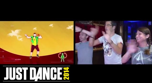 "Just Dance 2014 ""The World is Ours"" avec Bruce Grannec et Fanny Bouton"